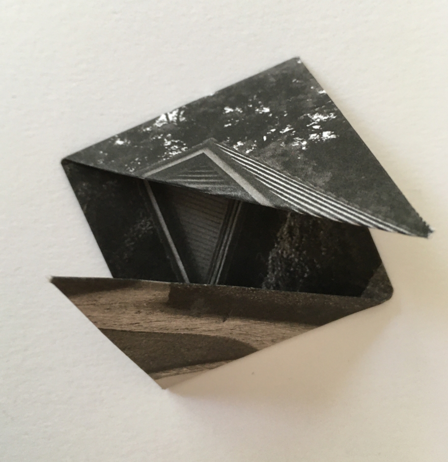 Origami Kusudama piece.
